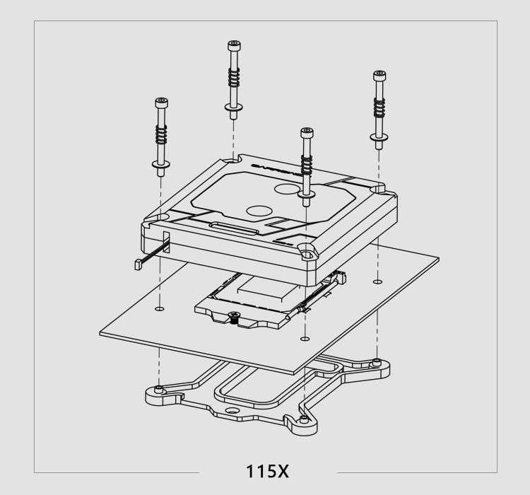 Купить с кэшбэком Barrowch CPU Water Block use for INTEL LGA1150 1151 1155 1156 2011 X99 / RGB Light compatible 5V GND 3PIN Header in Motherboard