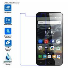 ROROBICO Screen Protector For Alcatel Pop 4+ Pop 4 Plus 5056A 5056D Premium Real Tempered Glass 2.5D HD Protective Phone Film alcatel pop 4 plus 5056d blue