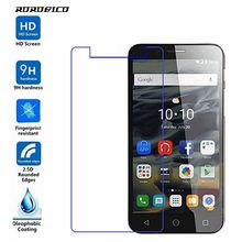 ROROBICO Screen Protector For Alcatel Pop 4+ Pop 4 Plus 5056A 5056D Premium Real Tempered Glass 2.5D HD Protective Phone Film стоимость