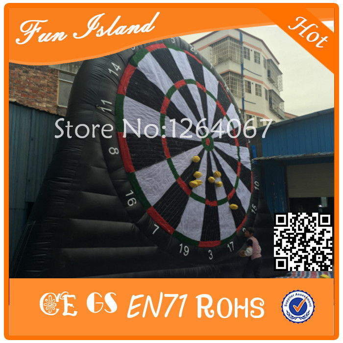 Free Shipping 2017 New Inflatable Soccer Darts, Inflatable Football Darts,Inflatable Soccer Dart Game For Sale free shipping ce certificated inflatable football pitch inflatable soccer court soapy stadium for sale