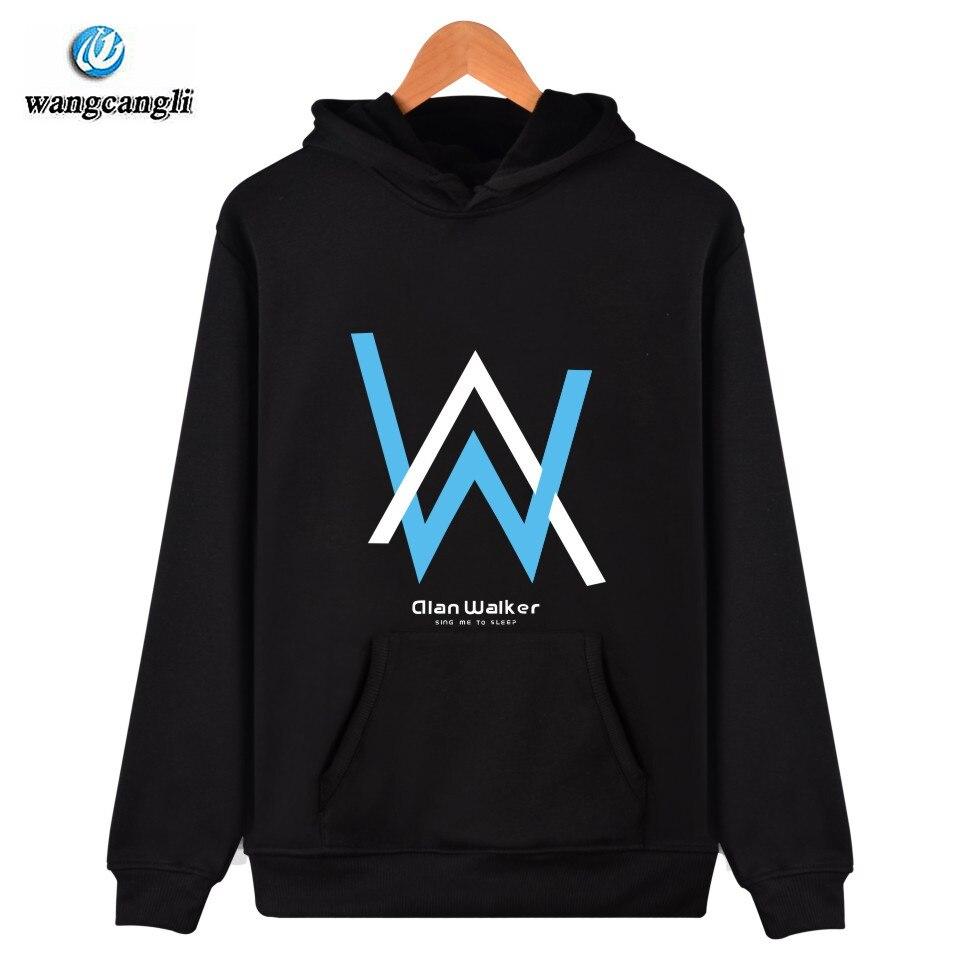 Fashion Men Sweatshirt Music DJ Divine Comedy Alan Walker Faded Jacket Coat Hoodies Swea ...