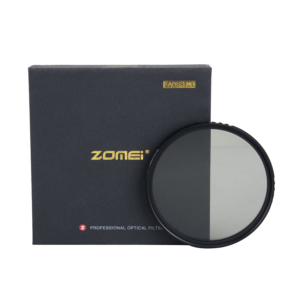 Zomei Ultra Sottile ABS Fader ND Variabile Regolabile ND2 Filtro a Densità Neutra per DSLR Lens 49/52/55/58/62/67/72/77/82mm
