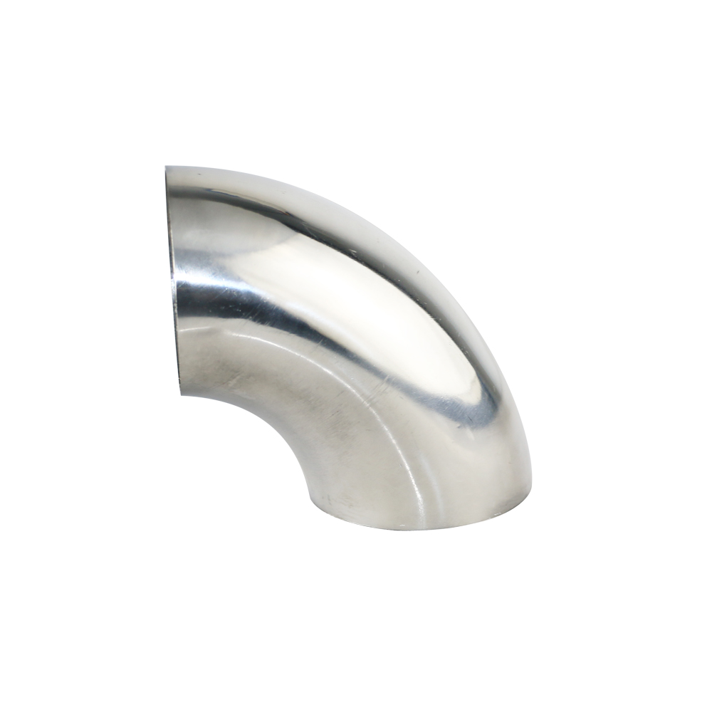 Excellent 3 Inch 201 Stainless Steel 90 Degree Bend 76mm Elbow Exhaust Pipe Hot
