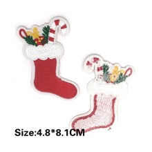 Stock Fabric Embroidered Patch Clothes Badge
