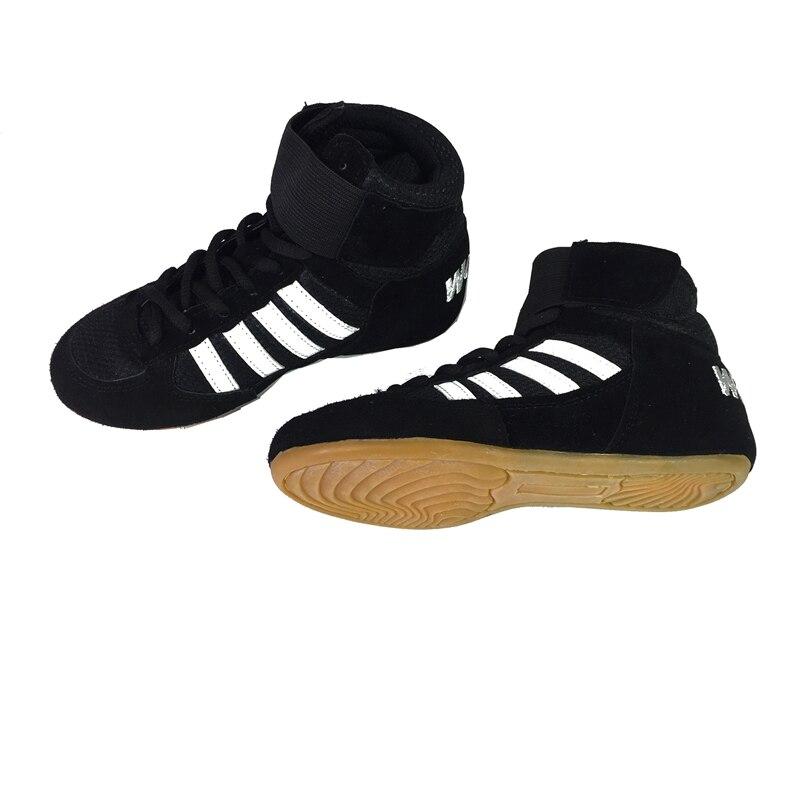 US $29.9  Wrestling Schuh für Kind Boxen MMA Sanda Kicking Boxing Training Schuhe für Kind in Ringerschuhe aus Sport und Unterhaltung bei AliExpress