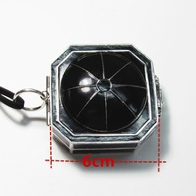 New style 6cm  pirate Compass Necklace