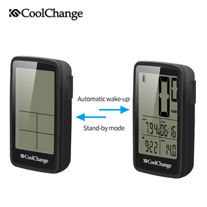 Image 4 - CoolChange Bicycle Computer Rainproof Wired and Wireless Cycling Computer Speedometer Odometer USB Rechargable MTB Bike Computer