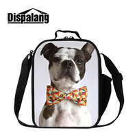 Dispalang 3D Dog Printing Insulated Kids Lunch Bags Thermal Food Bag Children Lunch Box Casual Small Picnic Bag Bolsa Termica
