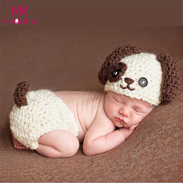 90b5f25c5c15 NewBorn Baby Crochet Knit Costume Clothes Photo Photography Prop Hat Girls  Boys Outfits Fotografia Clothes and Accessories