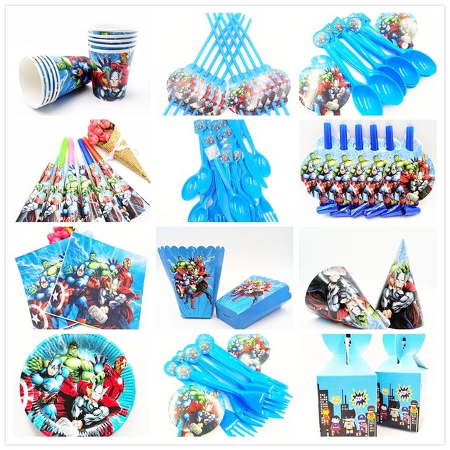 Avengers Party Supplies Avengers Decoration Sets Paper Garland
