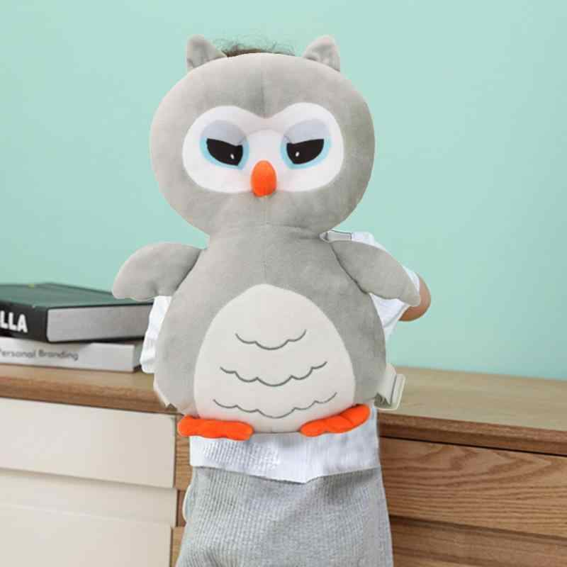 Animal Style  Owl Baby Head Protection Pad Toddler Headrest Pillow Wings Cushion  Decor Cute Thickened  Baby Head Protection