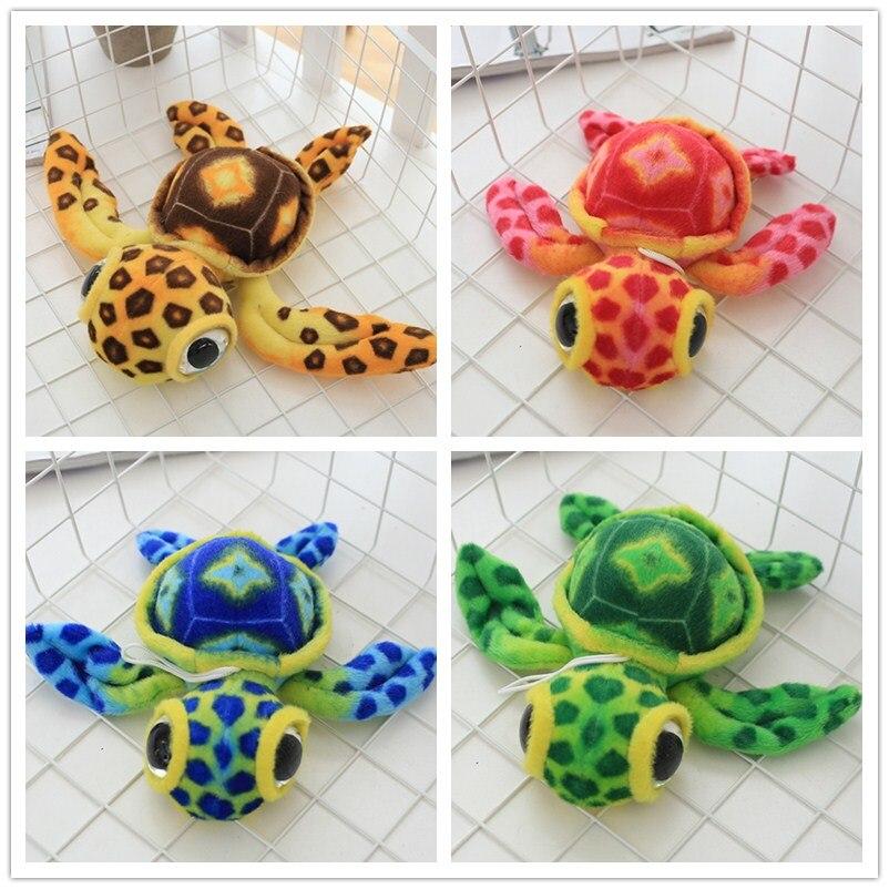 ヾ(^▽^)ノ15 cm la hermosa grandes ojos colorido tortuga juguetes ...