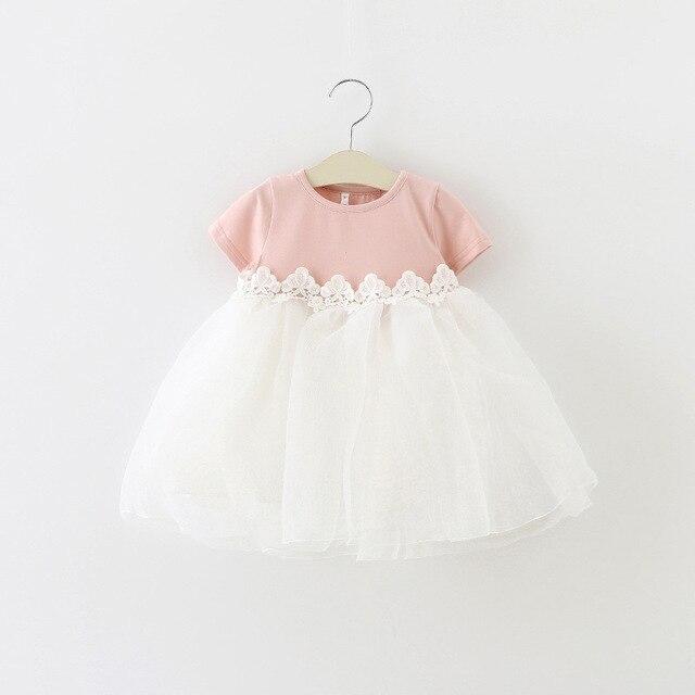 35a543e7f 2019 nuevo verano niños vestidos para niñas de manga corta vestido de  princesa coreana vestido malla