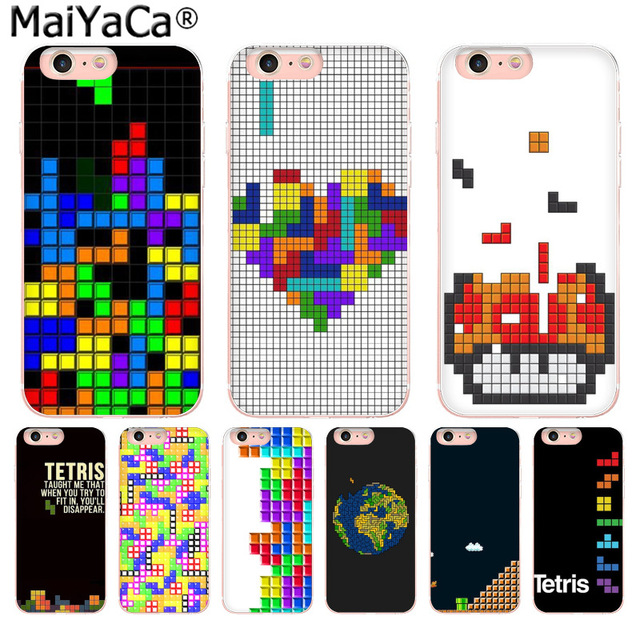 coque tetris iphone 8