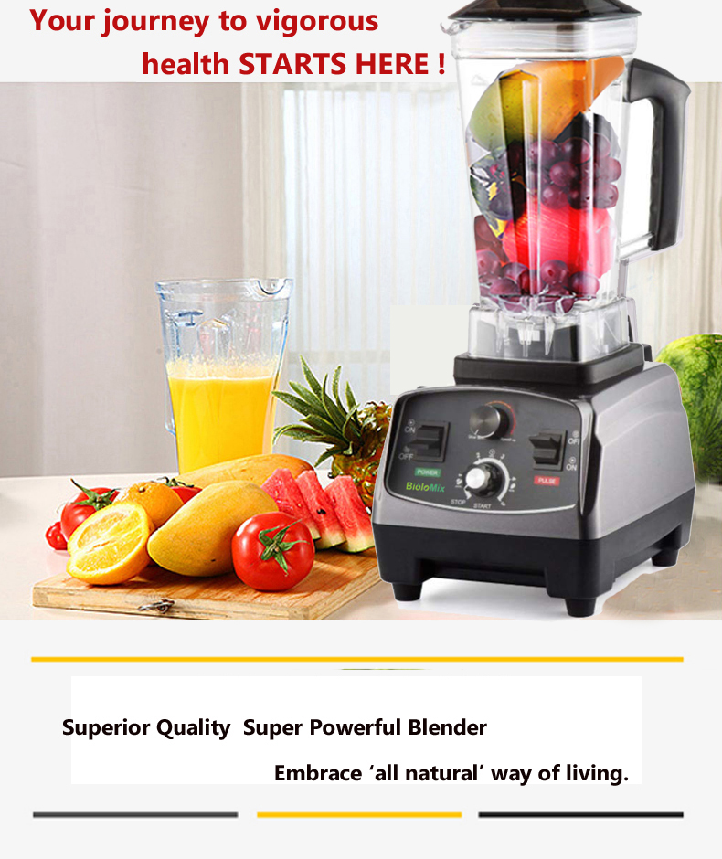 HTB12t7AXcvrK1Rjy0Feq6ATmVXal 3HP 2200W Heavy Duty Commercial Grade Automatic Timer Blender Mixer Juicer Fruit Food Processor Ice Smoothies BPA Free 2L Jar