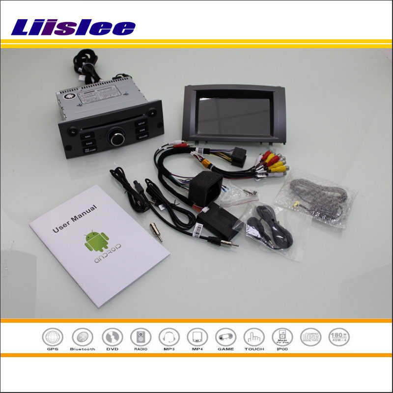 Liislee For Peugeot 407 2004~2010 Car Stereo Radio DVD