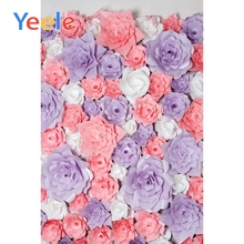 Yeele Photo Backgrounds Wedding Blossom Flower Wall Birthday Party Baby Portrait Photography Backdrops Photocall Studio