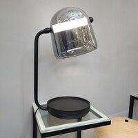 Современная светодиодная настольная лампа, украшение в помещении, настольная лампа, освещение для чтения в спальне, настольная лампа для сп