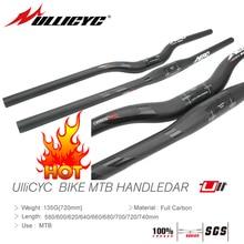 ULLICYC 2019 Newest Bright light mark Mountain Bike Full Carbon Handlebar (Flat/Rise)31.8*580/600/620/640/660/680/700/720/740mm