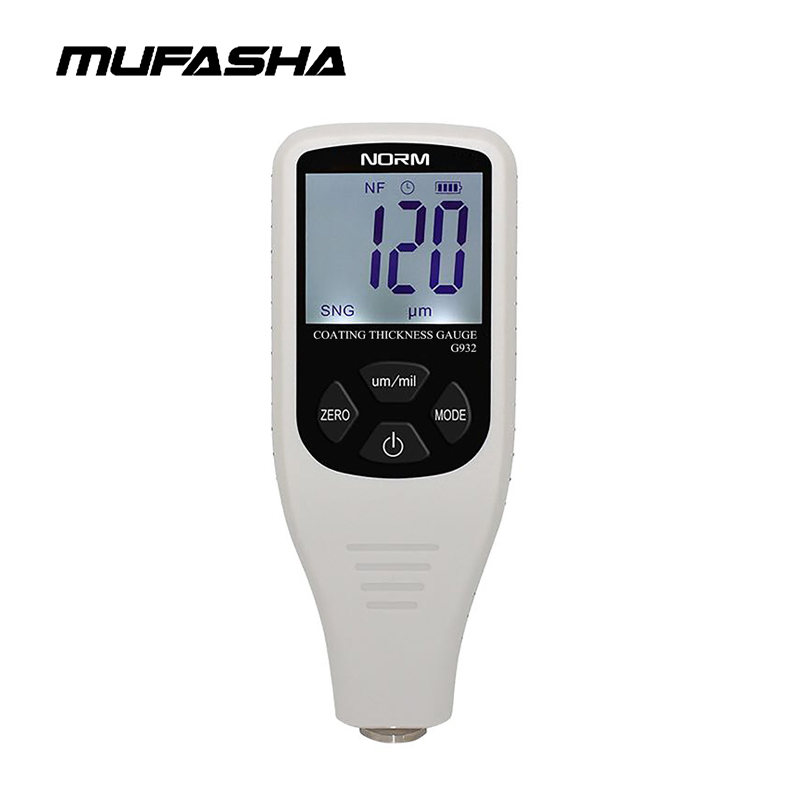 Coating Thickness Gauge High Precision Nondestructive Paint Thickness Tester Meter Measuring Range 0 1300um