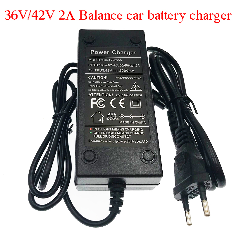Hk Liitokala 36v 2a Battery Charger 42v 2a Charger Input 100-240v Lithium Li-ion Li-poly Charger For 10series 36v Electric Bike Easy To Use Camera & Photo Accessories