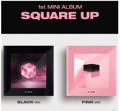 MYKPOP 100 OFFICIAL ORIGINAL BLACKPINK MINI 1 SQUARE UP Album Set CD Photo Book KPOP