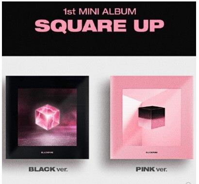 [MYKPOP] ~ 100% ORIGINAL officiel ~ BLACKPINK MINI 1 ensemble d'albums carrés CD + livre Photo Collection Fans KPOP SA19050501