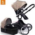 Babysing cochecito de bebé, lujo alto paisaje carritos de paseo para bebes, sistema de viaje cochecito WGO