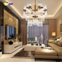 K9 Crystal Pendant Lights Postmodern Creative Luxurious Suspension Lightings Living Room Bedroom Decorative Lights LED E14