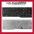Para Fujitsu AH532 A532 N532 NH532 RU Ruso Negro teclado del ordenador portátil sin marco
