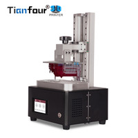 Tianfour new x cure V3 UV SLA /LCD/DLP 3D printer resolution minimum 1um for jewelry dentistry precision parts