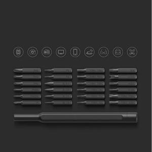 Image 4 - الأصلي عالية الجودة شاومي Mijia Wiha الاستخدام اليومي عدة 24 الدقة المغناطيسي بت الألومنيوم صندوق لتقوم بها بنفسك مفك مسامير المنزل الذكي مجموعة