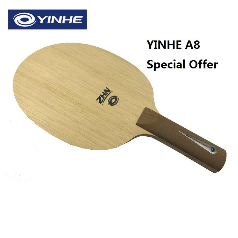 Yinhe A8 special offer Professional version table tennis balde racket 2018 new