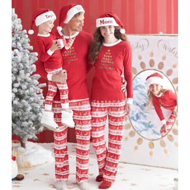 Sleepytime Pjs Family Matching Outfits Christmas Moose Pajamas Mother  Daughter Father Son Toddler Pajamas Family Clothing-in Matching Family  Outfits from ... - Sleepytime Pjs Family Matching Outfits Christmas Moose Pajamas