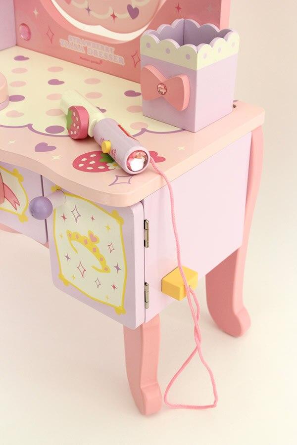 Aliexpress Com Baby Spielzeug Erdbeere Mutter Garten Klassische Simulation Schminktisch Madchen Geburts Sgeschenk Prinzessin Baby Spielzeug