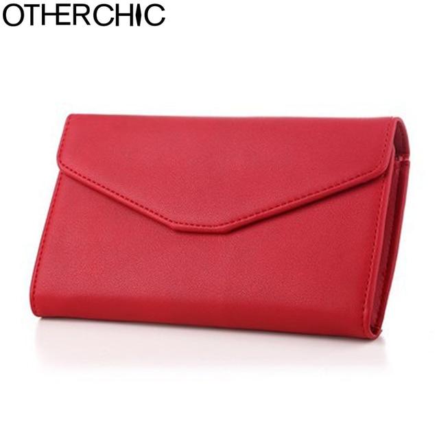 38d3b97e6391b OTHERCHIC Women Long Clutch Wallets Phone Pocket Passport Cover Holder Ladies  Wallet Zipper Wallet Purse Female Purses 6N07-12