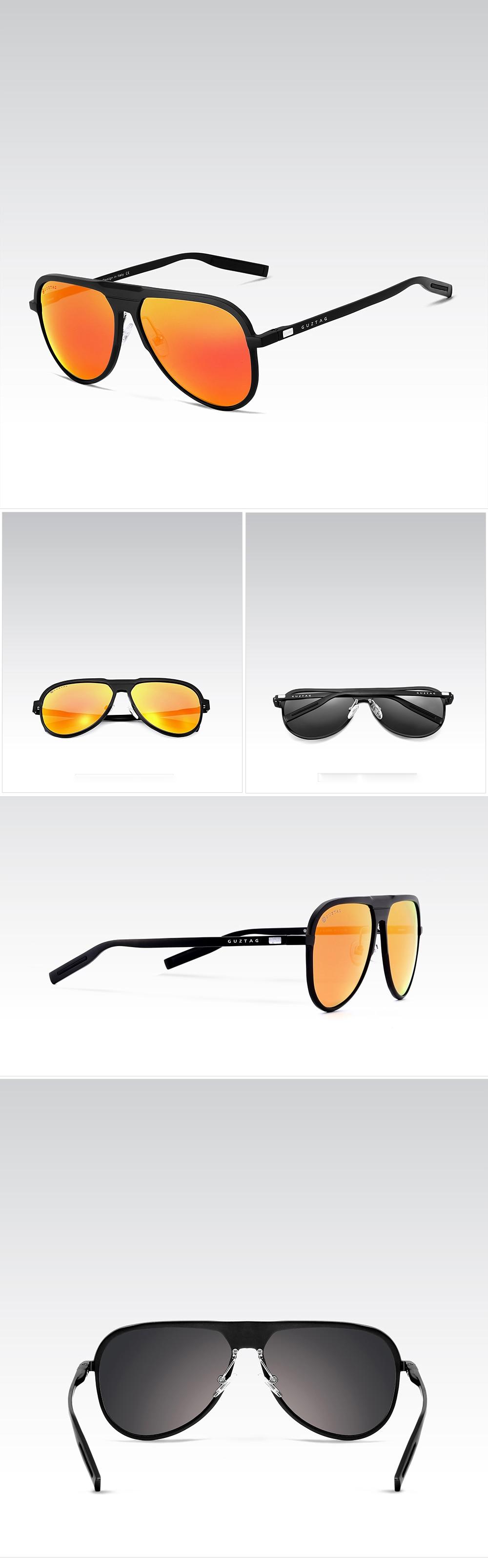 fd8c232d5d GUZTAG Unisex Classic Brand Men Aluminum Sunglasses HD Polarized ...