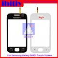 Высокое Качество Для Samsung Galaxy Ace DUOS GT-S6802 S6802 Touch Screen Digitizer Датчик Переднее Стекло Объектива черно-Белый