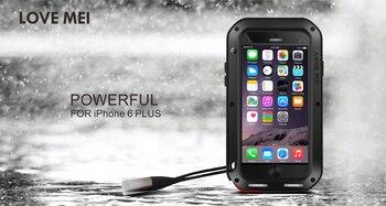 Wasserdichte Telefonhüllen | Für Huawei Taube 10 5,9 Zoll Fall LIEBE MEI Shock Schmutz-beweis Wasserdicht Metall Rüstung Abdeckung Telefon Fall Für Taube 10 Pro 6,0 Zoll