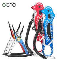 DONQL многофункциональные рыболовные зажимы для губ плоскогубцы леска резак крючки ножницы для удаления рыболовных зажимов Высокое качество...