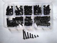 200PCS M3 Allen Bolt Hex Socket Countersunk Flat Head Screw Assortment Set
