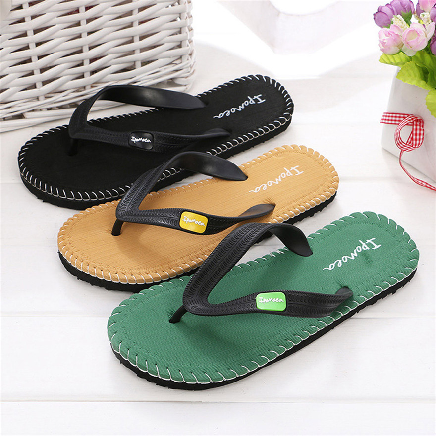 Men Summer Shoes Sandals Male Slipper Indoor Or Outdoor Flip Flops Mans footwear zapatos hombre sapato masculino цена