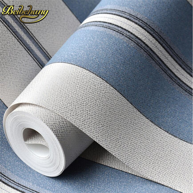 beibehang papel de parede 3D modern wallcovering stripe wall paper  for walls TV background non-woven wallpaper for living room beibehang modern luxury 3d wallpaper stripe wall paper papel de parede damask wall paper for living room bedroom tv background