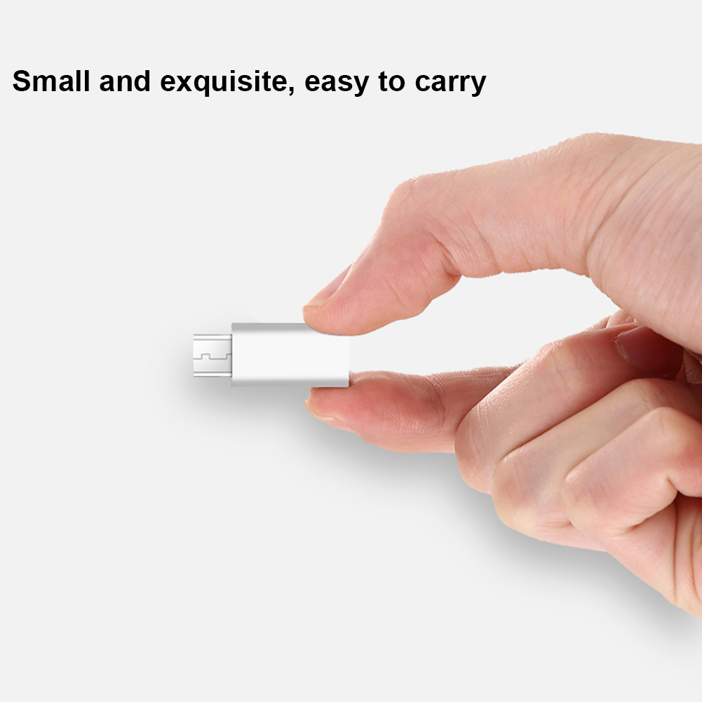 Mini USB 3.1 Type C Female To Micro USB Male Data Charger Adapter Converter For Macbook Oneplus 2 JLRL88