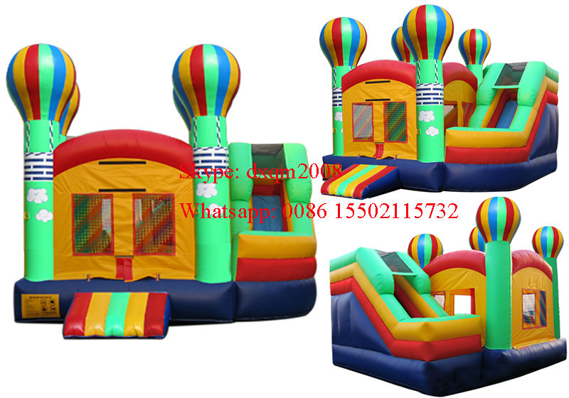 comercial inflable combo inter