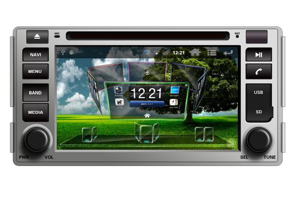 Android 6.2 INCH 2-DIN ANDROID CAR RADIO PLAYER SUPPORT WIFI/3G/GPS/IPOD/SD/USB/BT/OBD FOR HYUNDAI SANTA FE 2006-2012  -  Shenzhen TomTop E-commerce Technology Co., Ltd. store