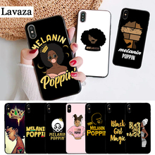 Lavaza 2bunz Melanin Poppin Aba Silicone Case for iPhone 5 5S 6 6S Plus 7 8 11 Pro X XS Max XR