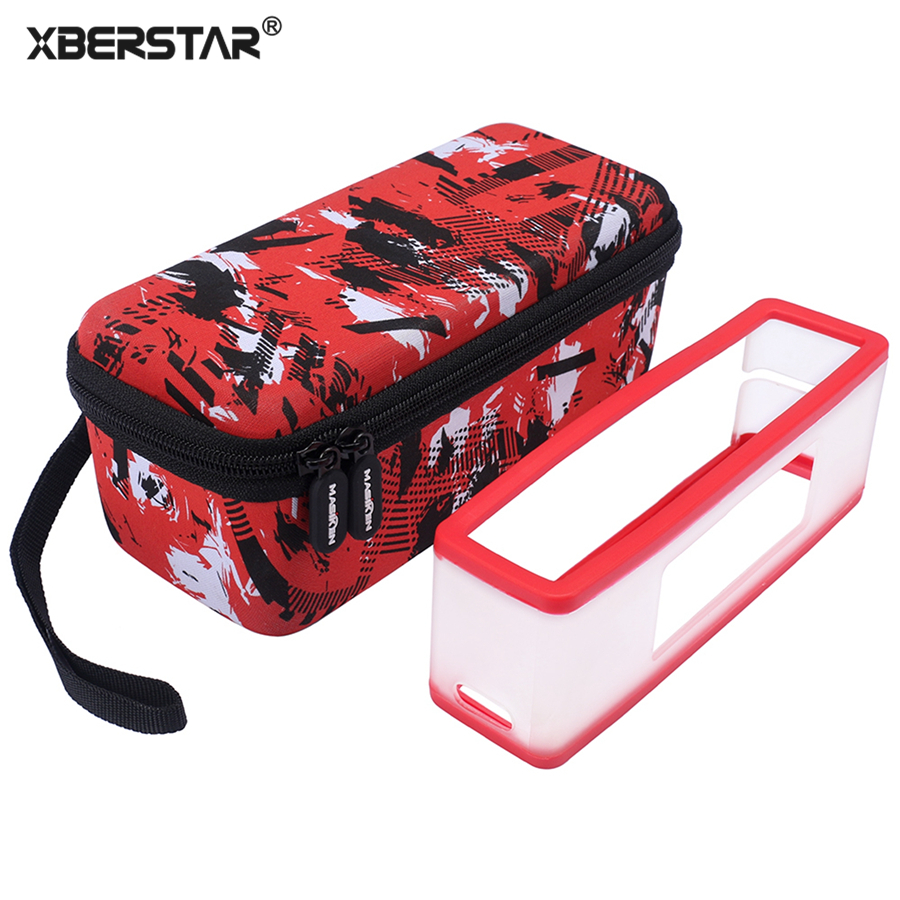 imágenes para XBERSTAR 2 en 1 Disco Estuche de Viaje EVA + Soft Carry Funda de silicona Para Bose Soundlink Mini 1 Mini Altavoz Bluetooth 2