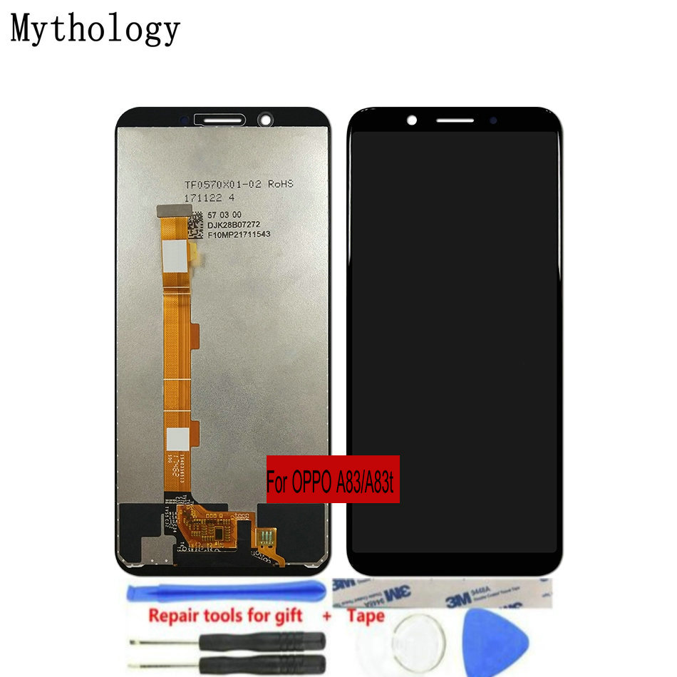 "For OPPO A83 A83t LCDs Touch Screen 5.7""Display Assembly Replacement Mobile Phone Panels Repair Tools Mythology(China)"