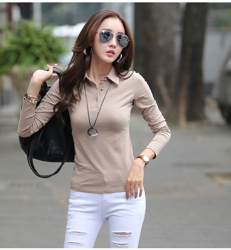 6 women polo shirt